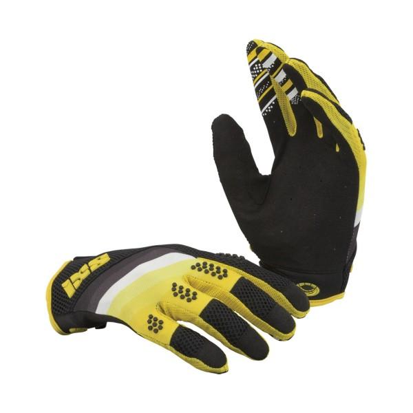 DH-X5.1 Pro Handschuhe Black/Yellow