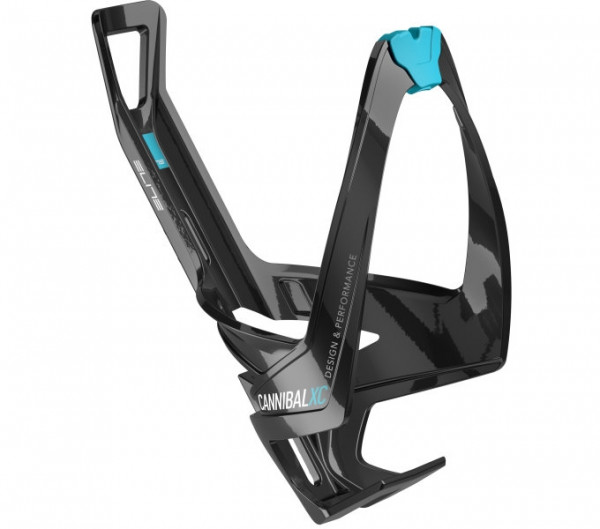 Flaschenhalter Cannibal XC Skin Glossy Black/Light Blue