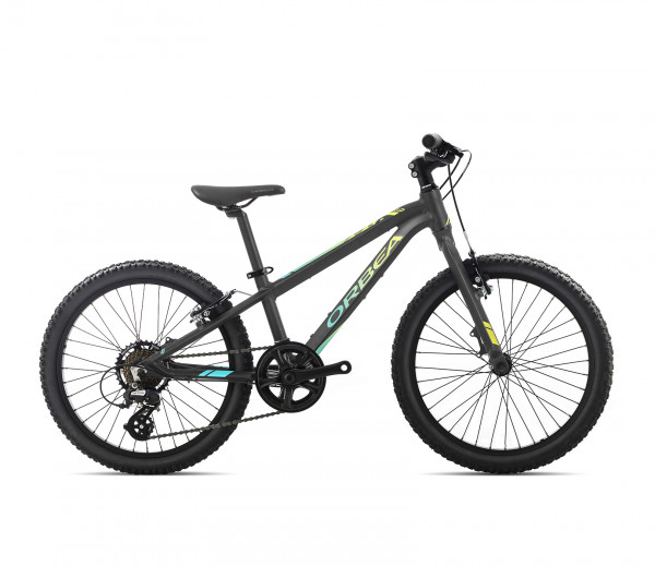 "MX 20"" Dirt Kinder-Mountainbike Schwarz/Multi"
