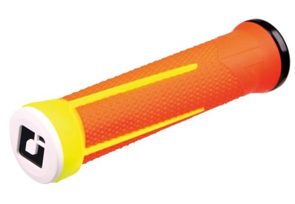 MTB Griffe AG-1 Lock On 135mm Neon Orange/Neon Gelb