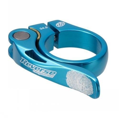 Reverse - Sitzrohrklemme Long Life 34,9mm Light Blue