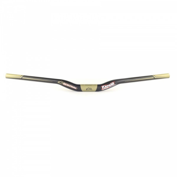 Fatbar Lite Carbon Riser Lenker 740mm Black/Gold