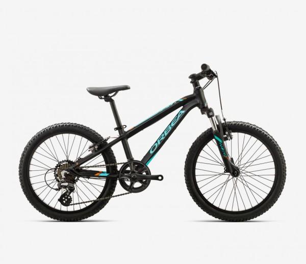 """MX 20"""" XC Kinder-Mountainbike Schwarz/Grün"""