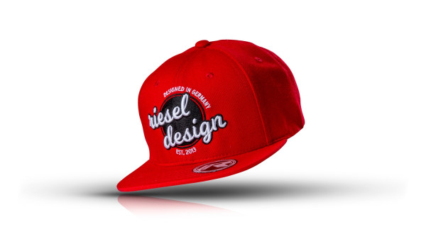 Kappe Snapback Cap The Crown Red
