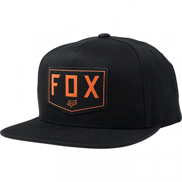 Mütze Snapback Hat Shield OS Black