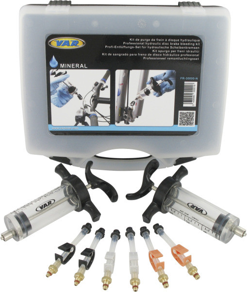 Bremsenentlüftungs-Set FR-30000 Min.Öl, Schwarz