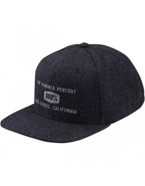 Kappe Broomley Snapback Hat Herringbone