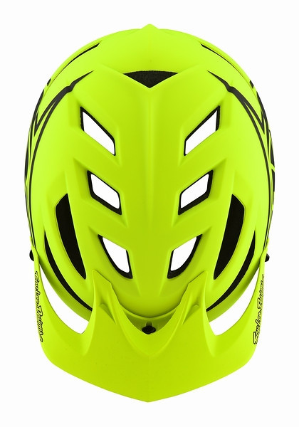 MTB-Helm A1 Classic MIPS Flo/Yellow