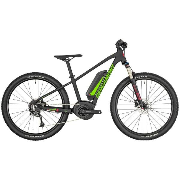 Komplettbike E-Revox 3 Junior, 26 Schwarz/Grün