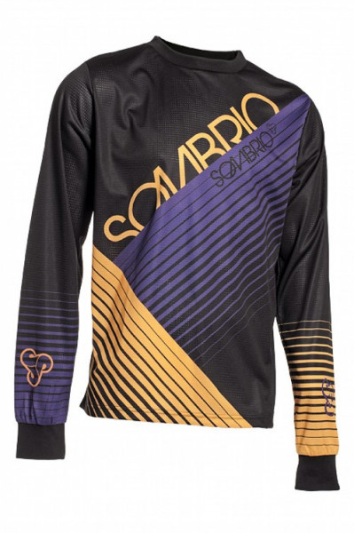 Sombrio - Grom Duster 2012 Race Jersey Black/Yellow