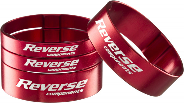 "Reverse - Spacer Ultra-Light 1 1/8"" red"