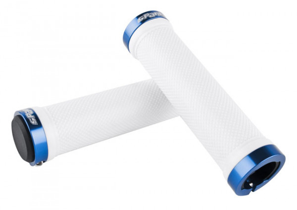 Spank - Lock On Griffe White/Blue