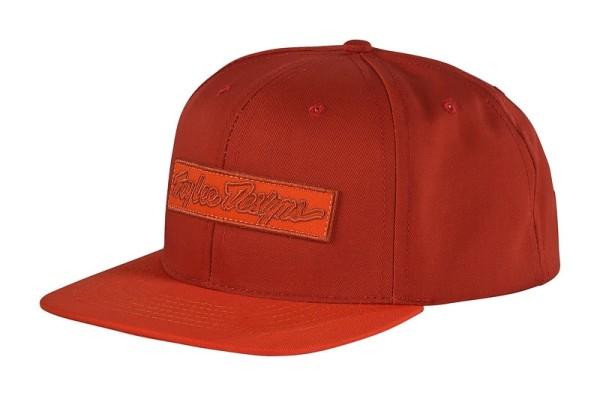 Kappe Outsider Snapback Hat Rust