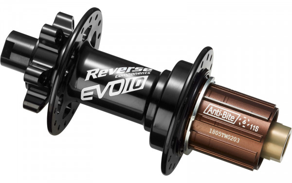 Nabe EVO-10 Pro Boost Disc HR 148/12mm 32H m. Shimano Freilauf Black
