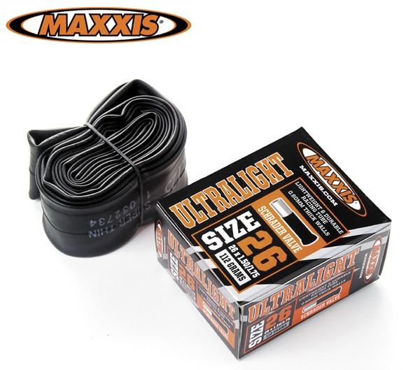 "Maxxis - Ultra Light 26"" Schrader/Auto"