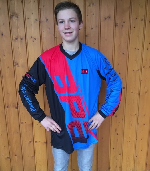 BPA Racing Jersey Dowe Youth 2016 Blue/Red