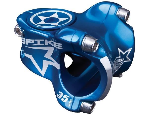 Spike Race Stem 31,8mm, incl. Custom cap Blue