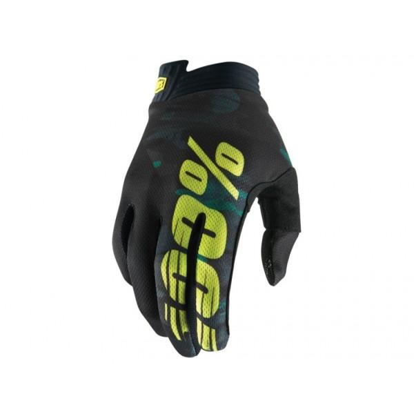 Handschuhe iTrack Youth Camo Black/Green