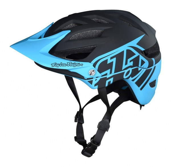 Helm A1 Mips Youth Classic Black/Ocean