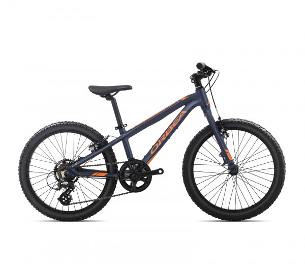 "MX 24"" Dirt Kinder-Mountainbike Dunkelblau/Orange"