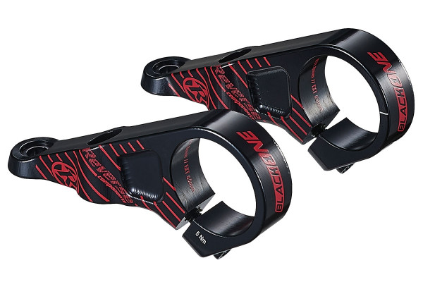 Vorbau Black One Direct Mount 63mm 31,8 Black/Red