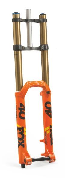 """Federgabel 40 Factory 19 27,5 Grip 2 Kashima 203mm, 1 1/8"""" Orange"""