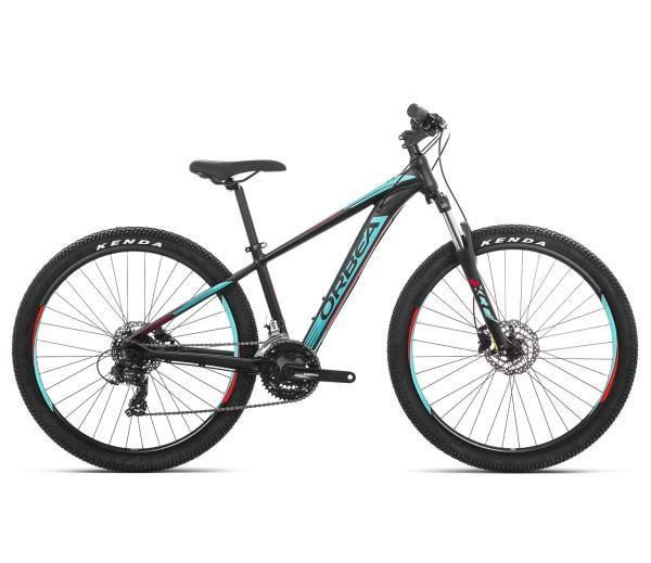 "Komplettbike MX 60 27,5"" 19 Schwarz/Türkis/Rot"
