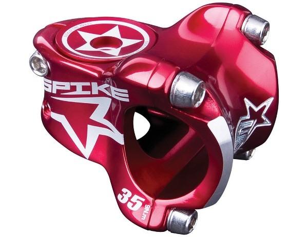 Spike Race Stem 31,8mm, incl. Custom cap Red