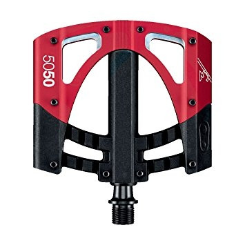Plattformpedale 5050 3 schwarz/rot